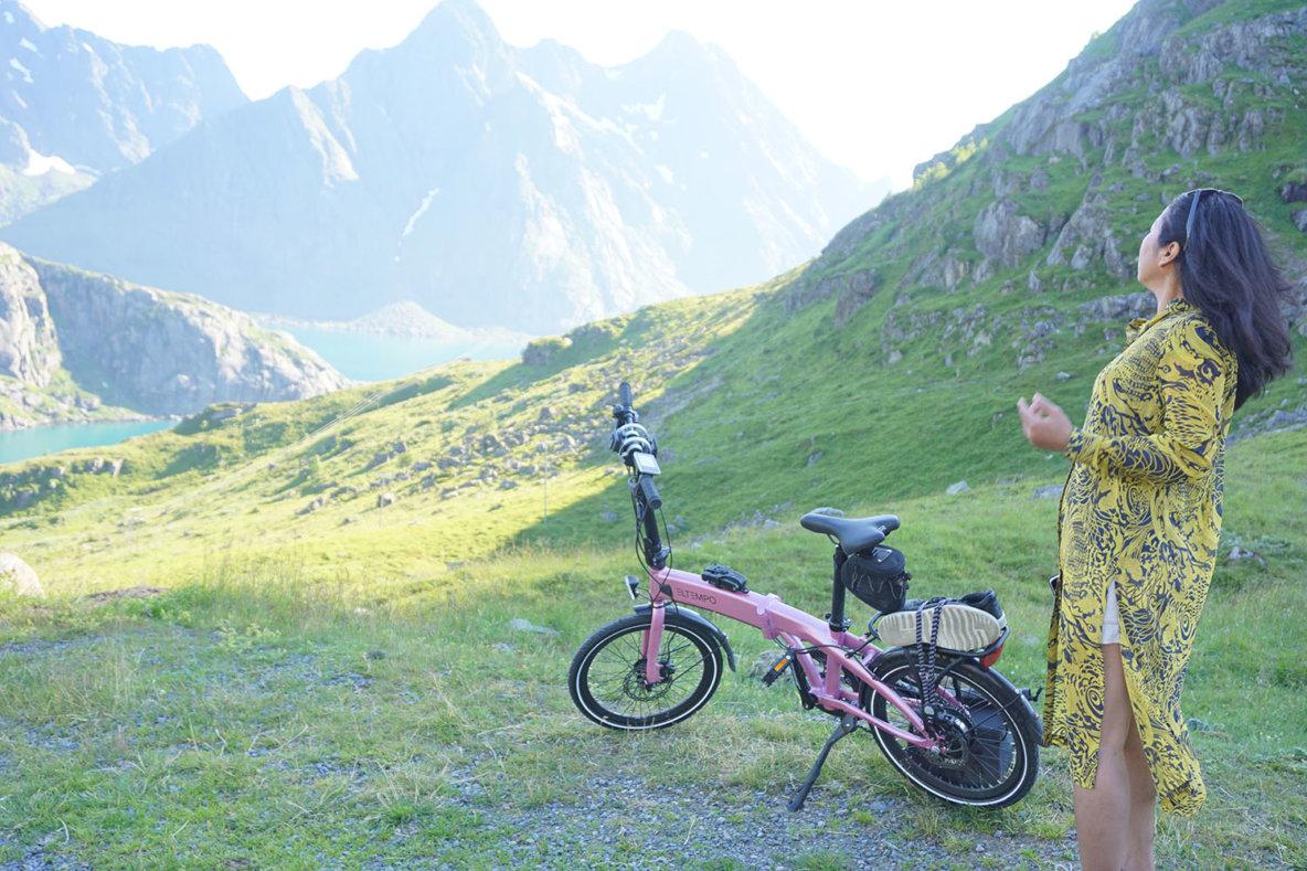 Eltempo Metro Lofoten - Sammenleggbar elsykkel