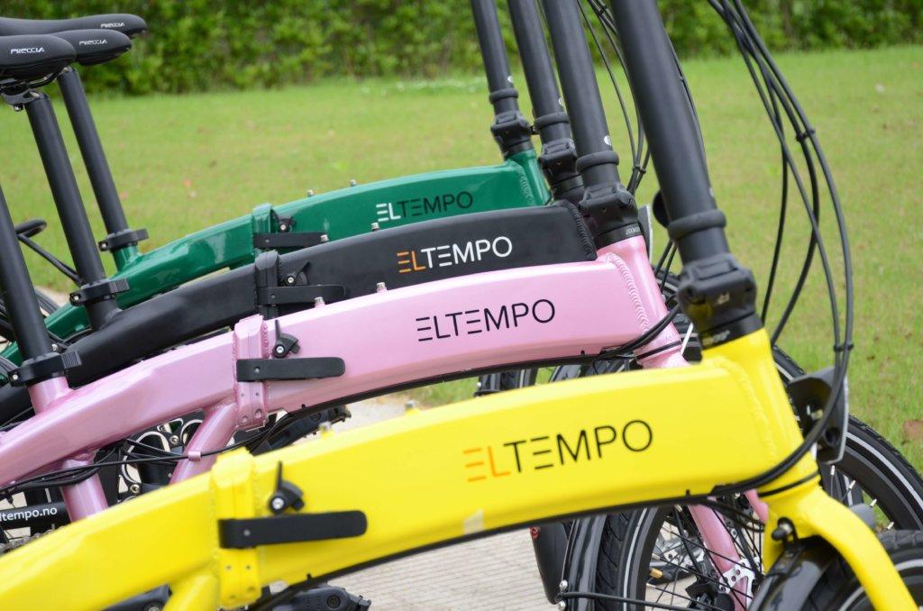 Eltempo Metro - Sammenleggbar el sykkel
